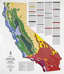 California Climate Map What is my climate zone?   The California Garden Web California Climate Map